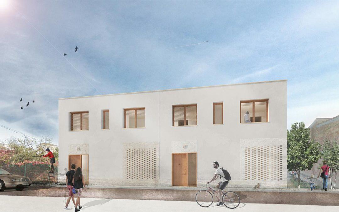 Projecte tècnic per la venta de dos habitatges unifamiliars d'alta eficiència energètica